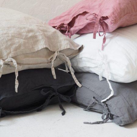Leinen Kissenbezüge - Spannbänder