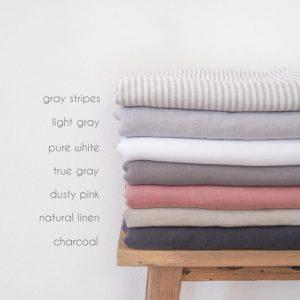 Leinen Bettwäsche - farben