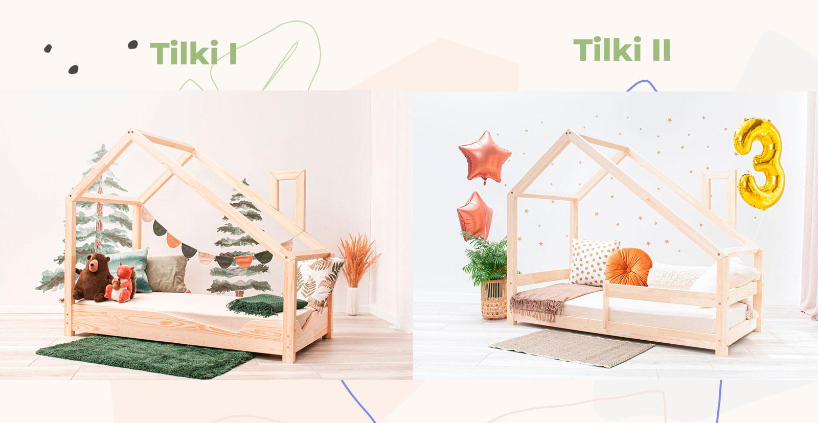 Tilki I und Tilki II Kinderbetten Vergleich